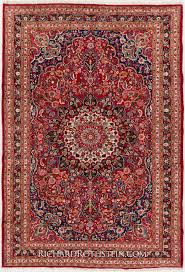 best red persian style rugs for appealing living room design