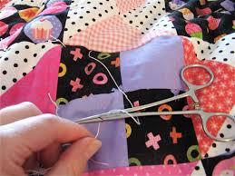 Sew Fabulous Quilt Shop: Tutorial - How To Hand Tie A Quilt &  Adamdwight.com