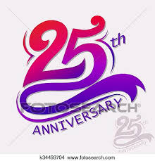 Anniversary Template Clipart Of Anniversary Design Template Celebration Sign K34493704