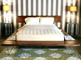 Flat Platform Bed Frame Flat Platform Bed Frame Double Size Platform ...