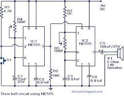 wireless doorbell schematic circuit diagram images doorbell inter system wiring diagram as well simple doorbell