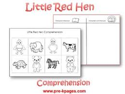 Small Picture Pre K Theme Little Red Hen
