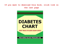 Free Diabetes Chart Keep Track Of Blood Sugar Levels In