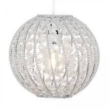 bead crystal ball pendant shade