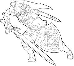 Princess Zelda Coloring Pages Legend Of To Betterfor