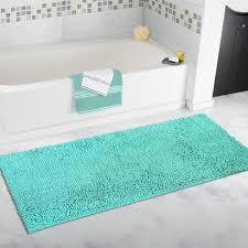 bathroom turquoise bathroom rugs jean pierre cotton his and hers aqua bath rug set piece