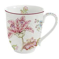 Easy Life Design Coffee Mugs Set 6 Porcelain Mugs 300ml