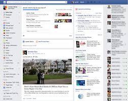 Facebook Interface Design Jerrett White Facebook Content Interface Design
