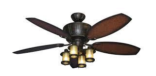 bright ceiling fan ceiling fan with 5 lights black iron with wooden blades fan