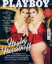 Bad bunny is the only man, aside from the late hugh hefner, to appear solo on the cover of playboy. Playboy 5 2021 Hayley Hasselhoff