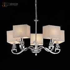 rima lighting hot modern chandelier with fabric lampshade for home and retaurant decoration