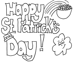 Small Picture Happy St Patricks Day Coloring Sheets Printable Kids Coloring