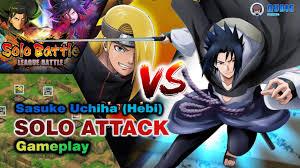 Download Sasuke Hebi Curse Mark Vs Naruto Uzumaki Bleach Vs Wallpaper HD.