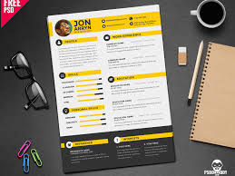 Photoshop Resume Template Free Download Psd Resume Templatereative Free Download Graphic Designerv Photoshop 16