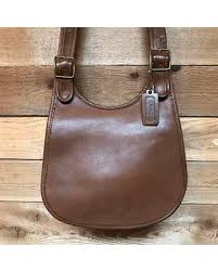 Early Vintage Bonnie Cashin Original Coach Saddle Bag Vtg Brown Leather Hobo  Flap Shoulder Purse Made