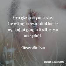 Quotes About Not Giving Up On Your Dreams
