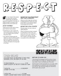 respect worksheet worksheet workbook site respect worksheets for students respect essay for kids binary