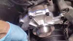 how to install water pump on a gm 3 8 liter how to install water pump on a gm 3 8 liter