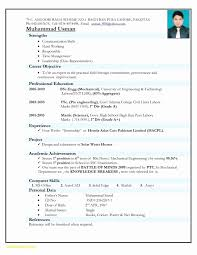 How To Make Resume For Job For Freshers Best Of Resume Formats Pdf