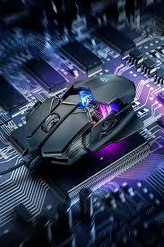 Gaming mouse with <b>x</b>-<b>ray</b> design, 4000 dpi sensor and RGB LED ...