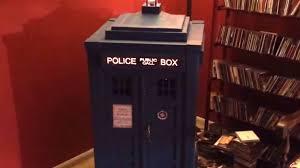 cardboard boxes make a terrific tardis jukebox