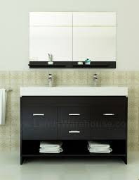 modern double sink bathroom vanities. I Would Like It Better If Was Backless (allow Wall To Show Through)? Citrus Modern Double Sink Bathroom Vanity Vanities
