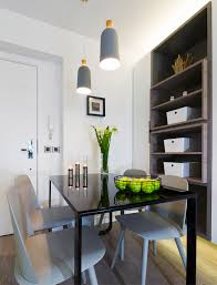 proof that flat less more post home dining table and chairs area dylan tan wom concept