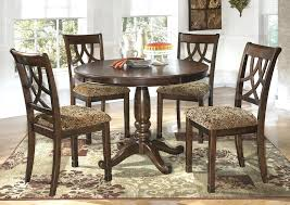 circle dining table set circular dining table round dining table and chairs with flowers