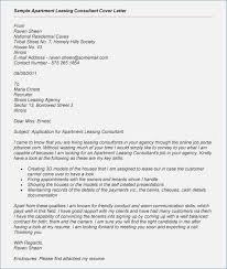 Leasing Consultant Cover Letter Resume For Leasing Agent With No
