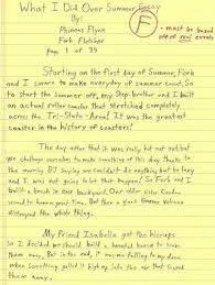 paragraph essay about summer summer writing ideas