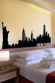 alternative views new york city skyline wall decals wall decals new