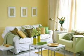 Green-and-yellow-living-room