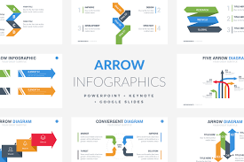 Infographic For Powerpoint 35 Arrow Infographic Template Powerpoint Keynote Google
