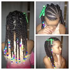 Hairstyles For Little Kids Beads Braids Beyond Braided Box Braids Little Girls Hair