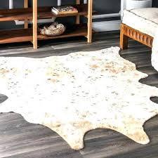 faux animal skin rugs faux cow skin rug contemporary faux animal prints cowhide rug faux animal
