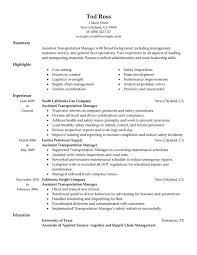 Cover Letter For Transportation Supervisor Position Zonazoom Com