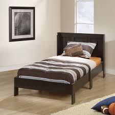 twin platform bed with headboard. Exellent Twin Sauder Parklane Twin Platform Bed And Headboard Multiple Finishes   Walmartcom To With Headboard Walmart