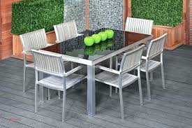 glass patio table set tables elegant ideas top round an