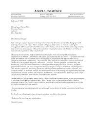 Business Development Manager Cover Letter Sample Program Manager Cover Letter Example Administrative Coordinator