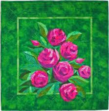 English Roses, A Paper Piecing Quilt &  Adamdwight.com