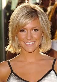 Coiffure Femme Visage Rectangle Cheveux Courts Blonds
