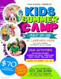 Summer Camp Pamplets 3 700 Customizable Design Templates For Kids Summer Camp Postermywall