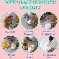 diy deep conditioner relaxed hair hairstylesnatural