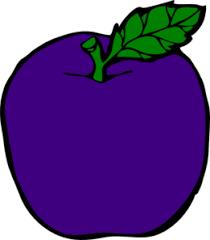 purple apple clipart. purple apple clip art clipart