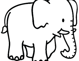 Cute Elephant Coloring Pages Elephant Coloring Pages Cute Free Page