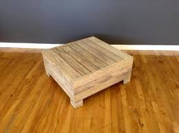 no cost low pallet coffee table or