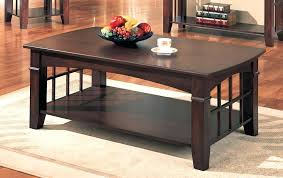 the most dark cherry wood coffee table black and in ideas set