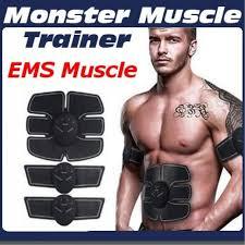 <b>EMS</b> Hip <b>Trainer</b> Muscle <b>Stimulator ABS</b> Fitness Lifting Vibrating ...