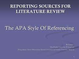 minimize figurative language     Types of APA Papers The literature  review