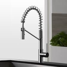 Small Picture Modern Kitchen Faucet Kohler K75474 Purist Double Handle Bridge